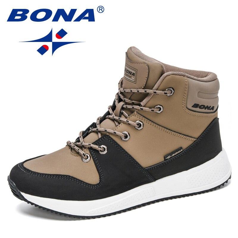 BONA-أحذية رياضية عالية الجودة للرجال ، أحذية رياضية عالية الجودة ، نمط غير رسمي ، ماركة فاخرة ، لفصلي الربيع والخريف ، 2020