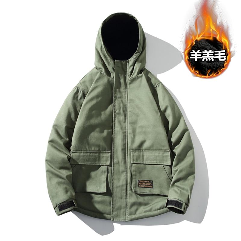 Мужская ветрозащитная парка, модель 2021 года, зимняя модная куртка в стиле милитари, Мужская Толстая Повседневная Верхняя одежда, мужское ба...