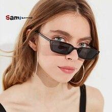 SamjuneFashion Small Frame Sunglasses Women Retro Square Glass Sun Glasses Female Eyeglasses Lady Ey