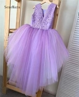 new princess lace dress flower girl dress girls vintage dresses for birthday party formal ball gown 14t