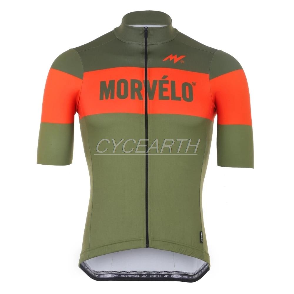 Morvelo 2019 camisetas de los hombres de secado rápido de Ciclismo de manga corta de verano Tops MTB Ciclismo camiseta Ropa Maillot Ciclismo Racing Ropa
