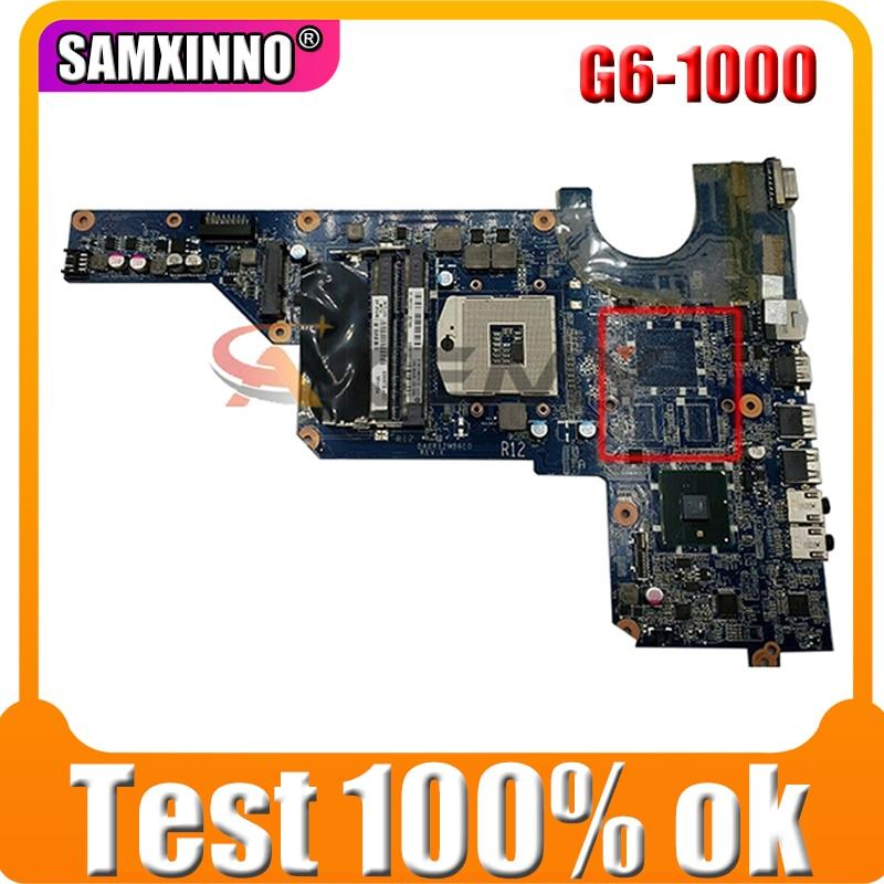 AKemy محمول لوحة رئيسية لأجهزة HP بافيليون G6-1000 اللوحة 636370-001 636370-501 DA0R12MB6E0 HM55
