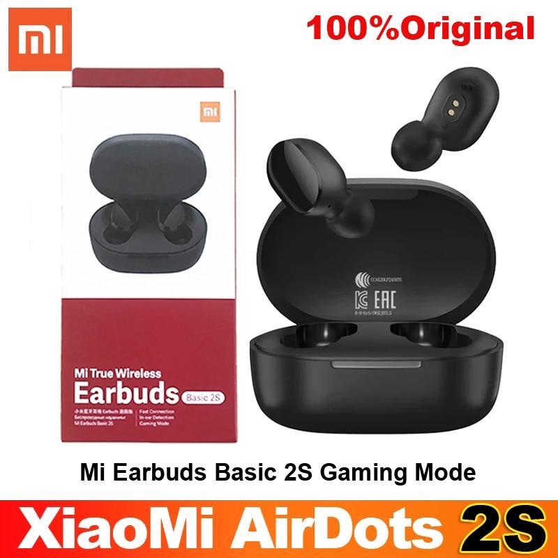 airdot 2s Xiaomi mi true wireless earbuds basic 2s Bluetooth 5.0 touch control TWS earphone gaming m