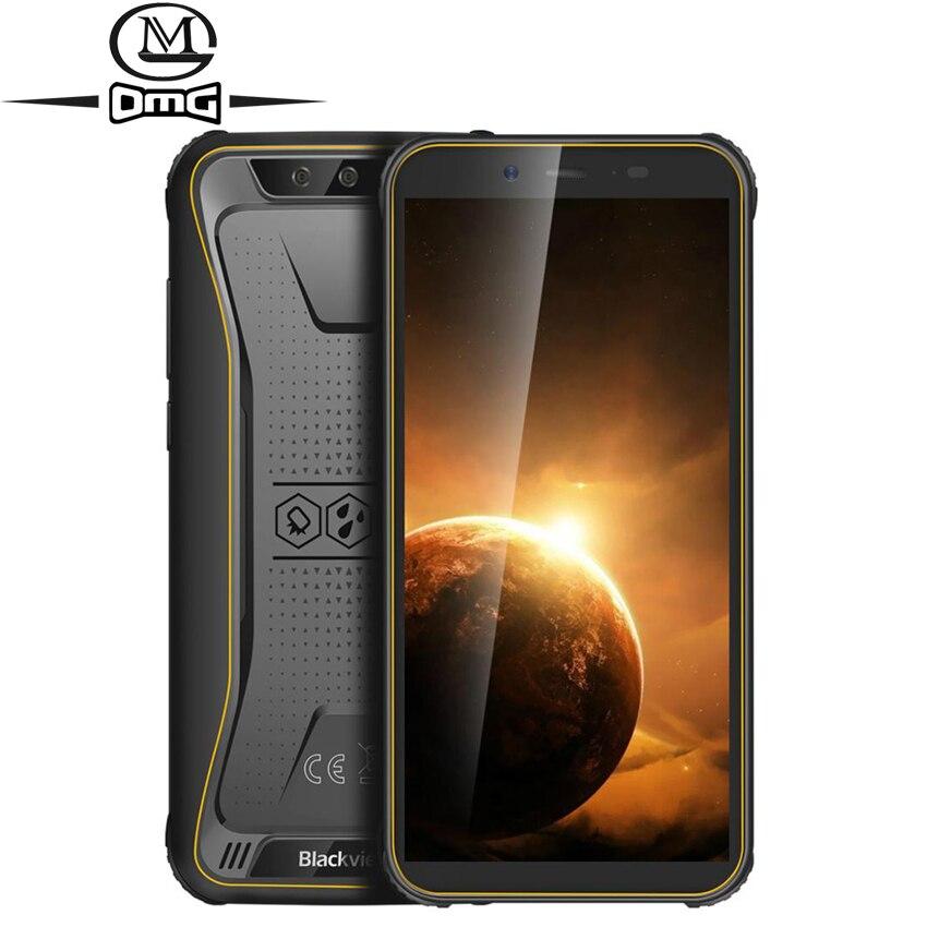 Перейти на Алиэкспресс и купить Blackview BV5500 Plus NFC IP68 водонепроницаемый мобильный телефон, Android 10,0 FM OTG сотовый телефон 3 ГБ 32 ГБ 5,5 дюйм4400 мАч прочный смартфон