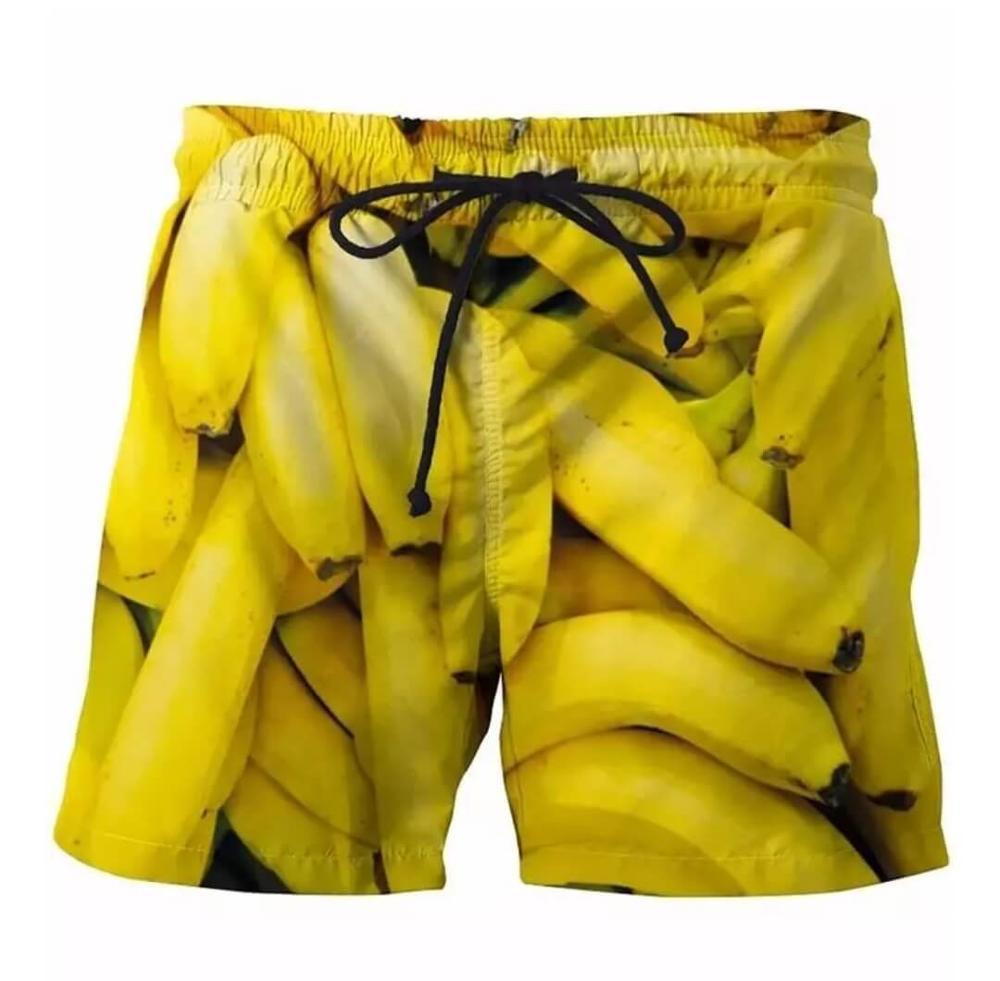 Plstar Cosmos мужские летние шорты для плавания с 3D принтом модные пляжные шорты с мультяшным дизайном