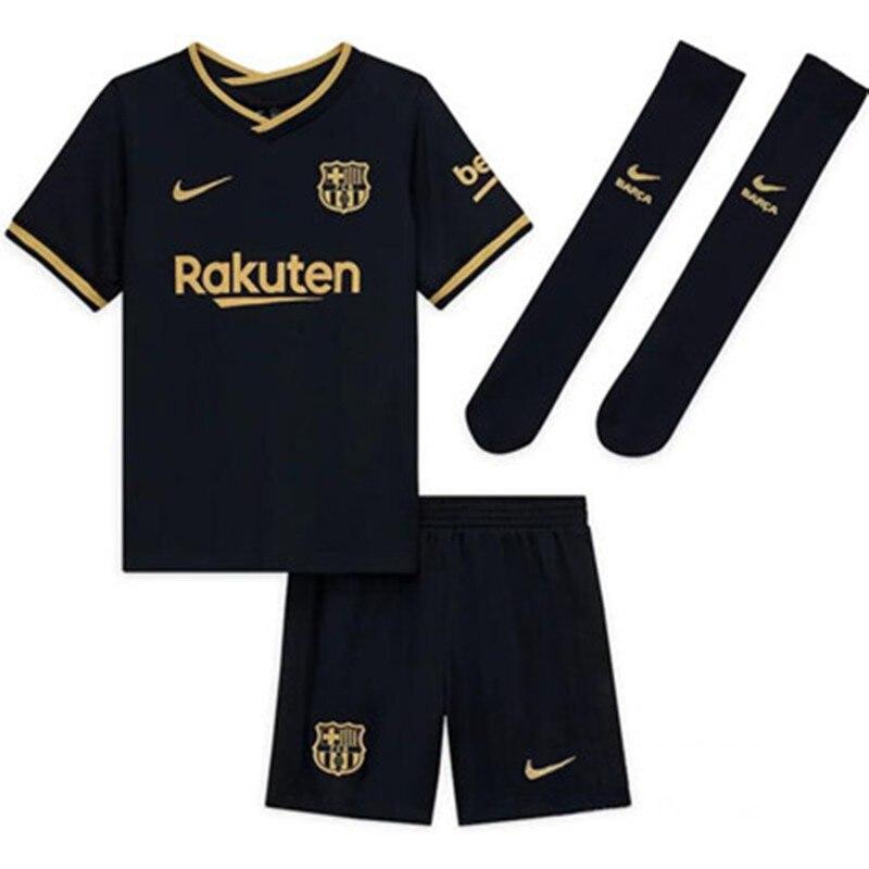 2021 Barca Barcelona fútbol lejos de chico de la juventud jersey de...