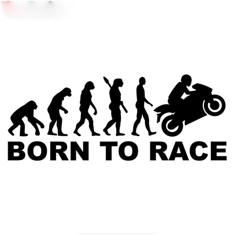 ثلاثة راتلز TZ-1323 #11.9*30 سنتيمتر تطور الإنسان السائق سباق ملصقات السيارات مضحك ملصق السيارات الشارات