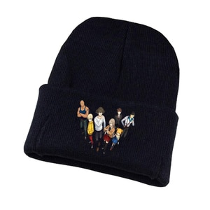 Hakata Tonkotsu Ramens Knitted hat Cosplay hat Unisex Print Adult Casual Cotton hat teenagers winter Knitted Cap