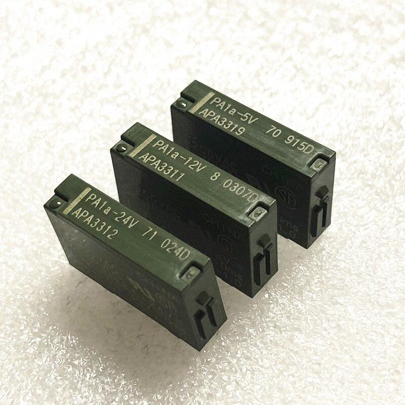 Nuevo Original 10 unids/lote relé de PA1A-5V PA1A-12V PA1A-24V APA3319 APA3311 APA3312 4PIN 5A250VAC
