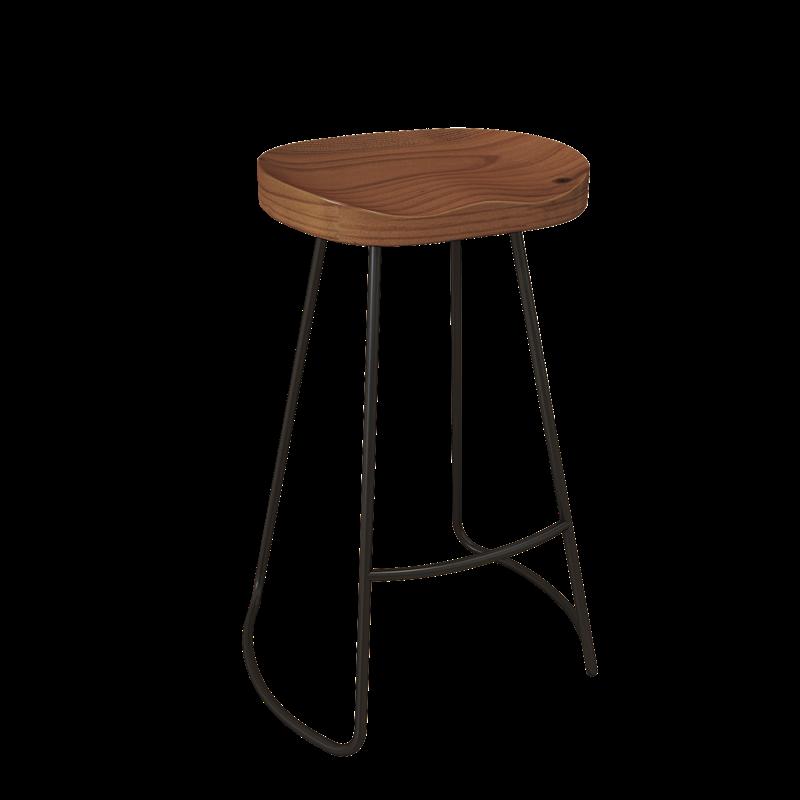 Proste nowoczesny bar stół stół z litego drewna i krzesło stolik barowy na ścianie na wysokiej stopce stół herbata mleczna restauracja Sm