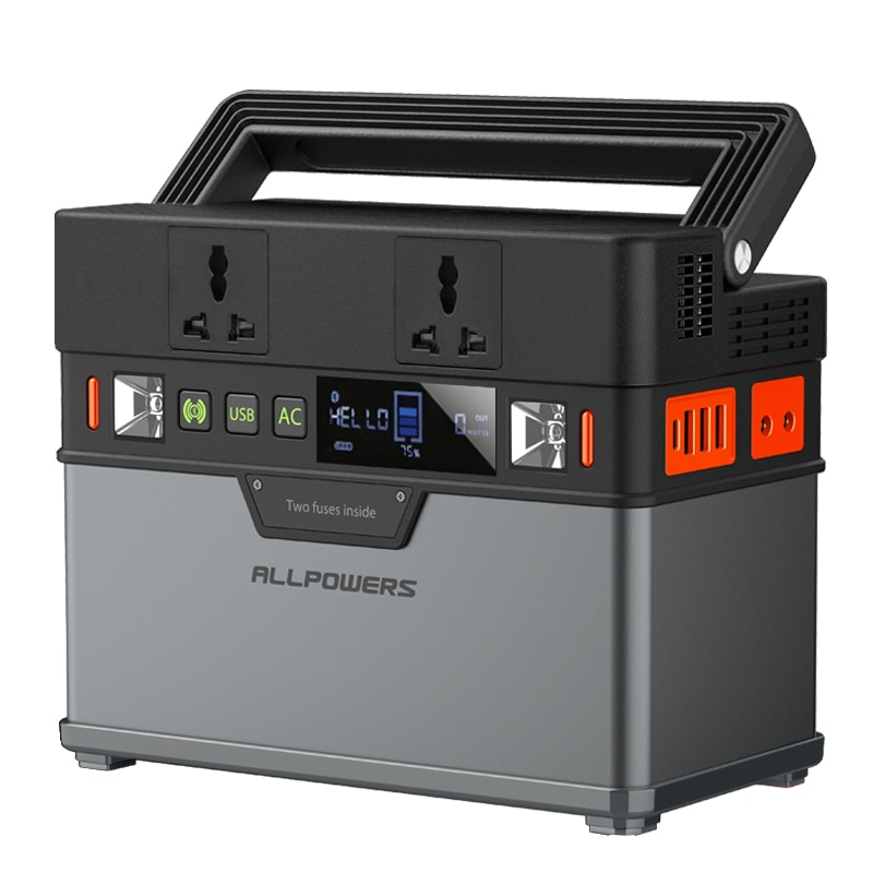 ALLPOWERS Portable Generator 372Wh / 100500mAh Power Station Emergency Power Supply with DC / AC Inv