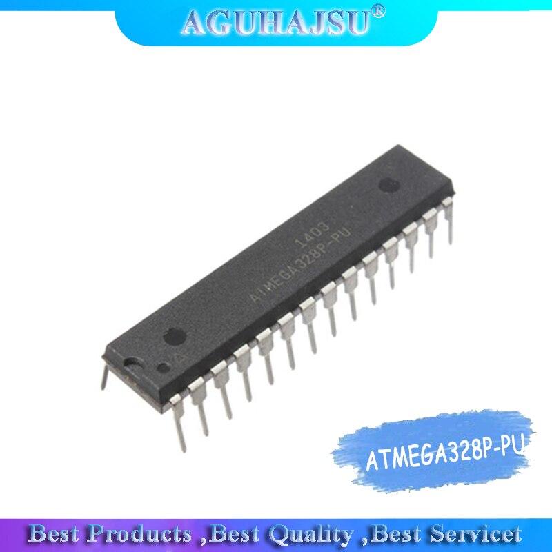 1 unids/lote ATMEGA328P-PU DIP28 ATMEGA328-PU DIP ATMEGA328P U DIP-28 328P-PU nuevo y original IC