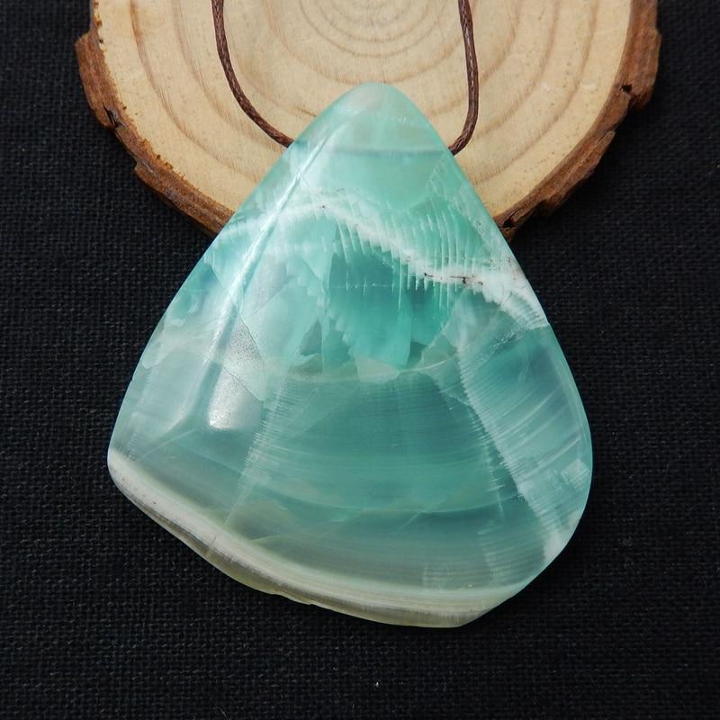 ¡Nuevo! Nugget nos Jade perla colgante de piedras preciosas de 56x50x10mm 38,6g