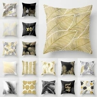 nordic style pink series cushion cover geometric love square peach skin pillowcase car sofa home decoration pillowcase