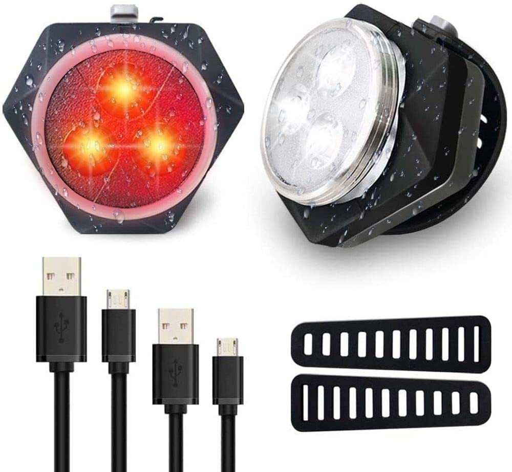 Riding LED Lamp Bicycle headlights, 3XLED Brightness, Powerful Safety Lights for Night Riding LED Lamp