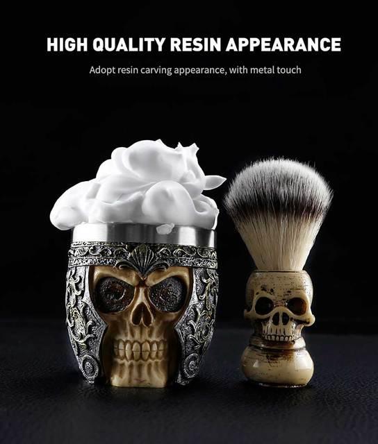 Cesto Для мужчин бритвенный набор для мыла и Кисть Парикмахерская