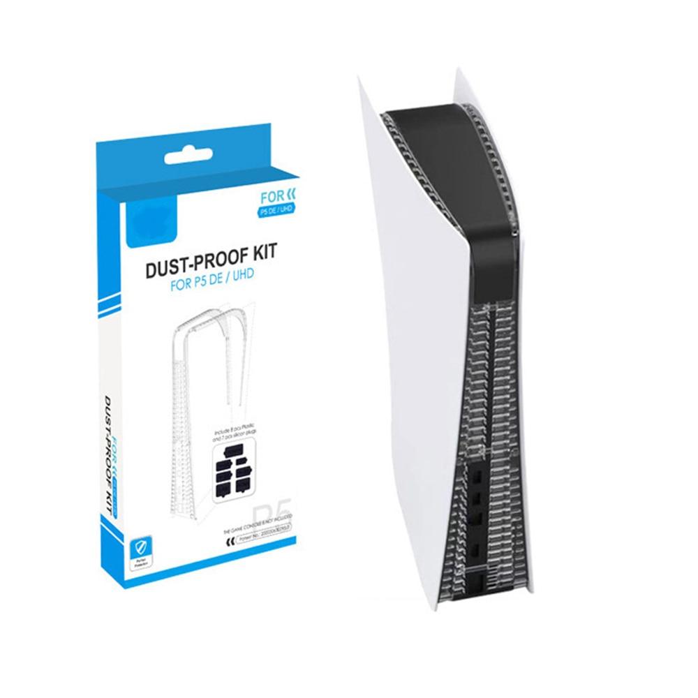 Пылезащитная заглушка, силиконовый пылезащитный чехол, пробка, пылезащитный чехол для PS5, Защитная крышка для игровой консоли