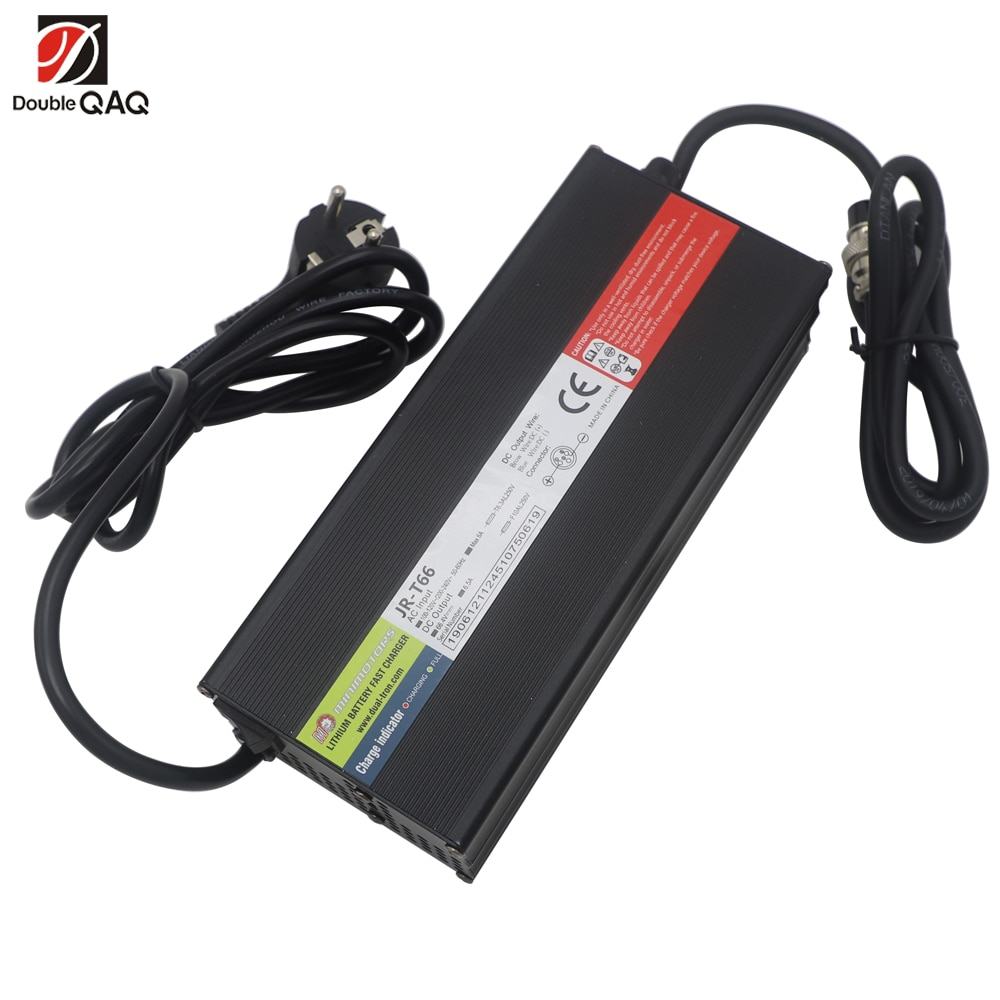 66.4V 6.5A Fast Charger for Dualtron Electric scooter 100-240V fit for USA standard or EU standard Voltage