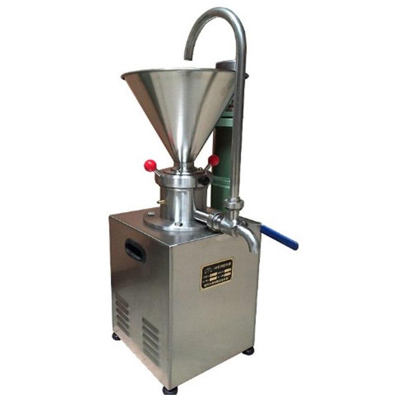 Trituradora de nueces para mantequilla de sésamo con certificado CE JMS60 de acero inoxidable, molinillo coloide para mantequilla