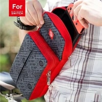 crossbody bag for nintendo switch travel carry case shoulder storage bag for console dock game accessories protective bags