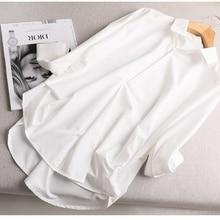 2021 Spring And Autumn White Shirt Women 'S Fashion Korean Casual