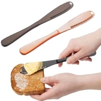 butter spreader knife 3 in 1 stainless steel butter knife spreader heated butter knife and grater with serrated edge