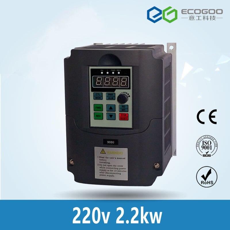 محول تردد المحرك 220 فولت 2.2KW PMSM لمحرك متزامن مغناطيسي دائم