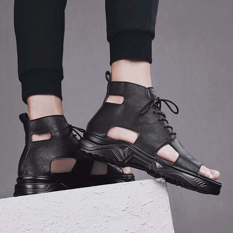 أحذية رياضية جلدية للرجال ، صنادل شاطئ ، أحذية خارجية ، أحذية غير رسمية ، شبشب ، عرض خاص