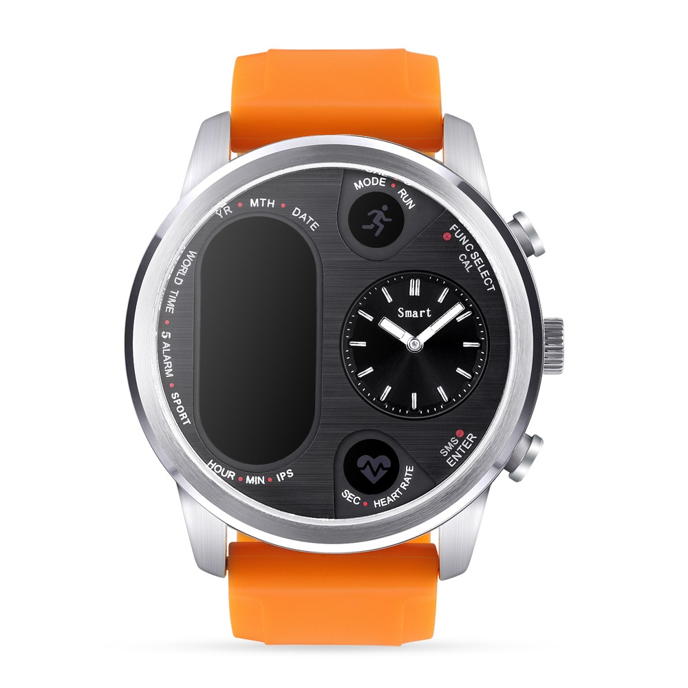 T3 PRO Smart Watch Dual Time Waterproof IP67 Heart Rate Monitor Bluetooth Activity Tracker Smartwatch Sports For IOS Android enlarge