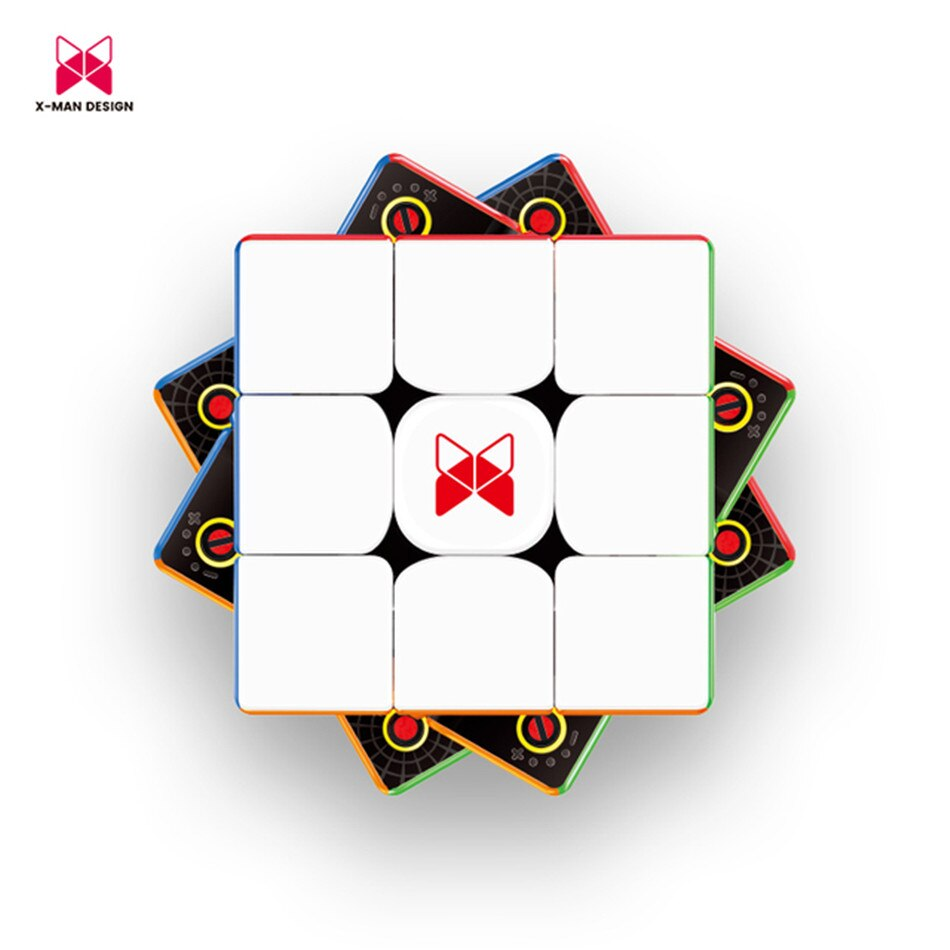 QiYi X-Man Tornado V2 M 3x3x3 Magnetic Speed Cube Professional Magic Cube Puzzle Cubo Magico Puzzle