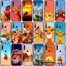 Y42 Lion King Luxe Zachte Siliconen Telefoon Case Voor Huawei Nova Smart 7 5 Pro Se 6 5T 5i 4E 4 3 3i Telefoonbumper    -