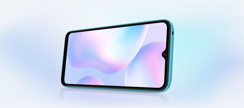 هاتف شاومي ريدمي 9A النسخة العالمية 9 هاتف ذكي 32 جيجا/64 جيجا بايت MTK Helio G25 ثماني النواة كاميرا خلفية AI 13 ميغا بيكسل 6.53 بوصة HD + 5000mAh 3 64G
