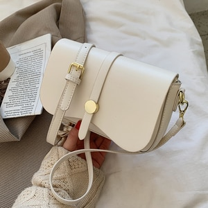 Niche Design Popular Hot Style Handbags 2021 New Fashion Messenger Bag Western Style Shoulder Bag Square Bag Width: 21.5cm