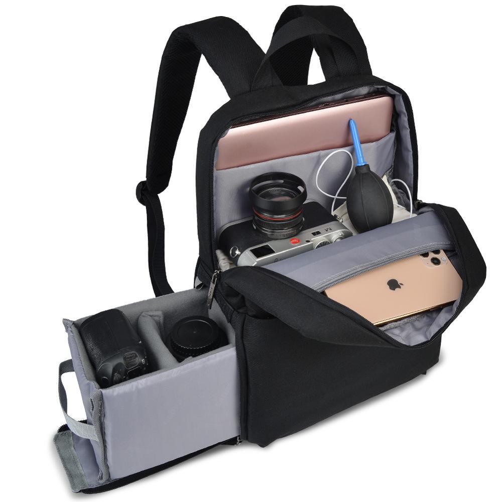 Сумка для DSLR камеры, рюкзак, наплечная сумка для ноутбука, цифровая камера, объектив, фотография, сумки для багажа, чехол для Canon, Nikon, SONY, PENTAX ...