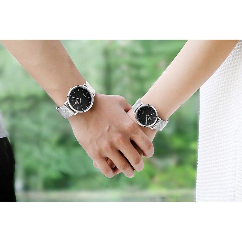 Luxury Couple Watches Fashion Men Watch for Women Watches Quartz Wristwatch&Slim design