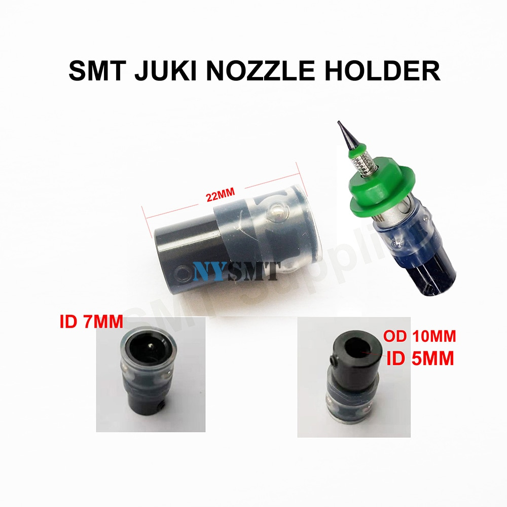 SMT JUKI porte-buse 5mm/6mm taille intérieure moteur de support pas à pas connecteur spécial pour buse JUKI