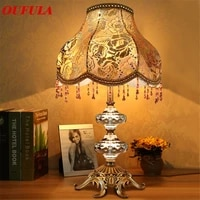 oulala crystal table lamps desk lights luxury%c2%a0 modern contemporary fabric for foyer living room office creative bed room hotel