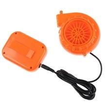 Mini ventilateur souffleur pour tête de mascotte gonflable Costume 6V alimenté par batterie sèche