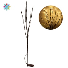 20 ampoules LED saule branche lampe lumières florales arbre branche lumières noël fête maison vacances anniversaire décoration cadeau tls