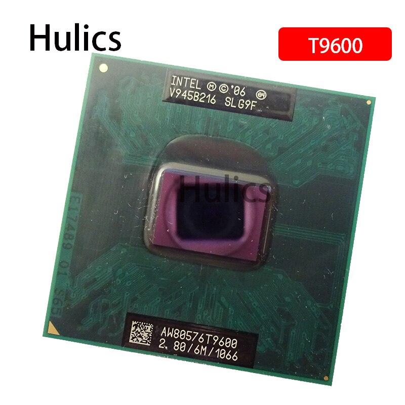 Huics original intel computador portátil cpu t9600
