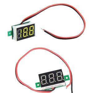 Mini DC 2.5-30V LED Panel Voltage Meter 3-Digital Display Voltmeter V20D AUG889