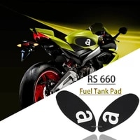 fit for aprilia rs660 rs 660 tuono 660 2020 motorcycle anti slip tankpad stickers fuel tank pad fuel tank decal traction pad