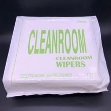 300 pièces/sac 0609 papier sans poussière industriel absorbant laboratoire électrostatique poussière solvant encre enlèvement essuyer fibre optique propre