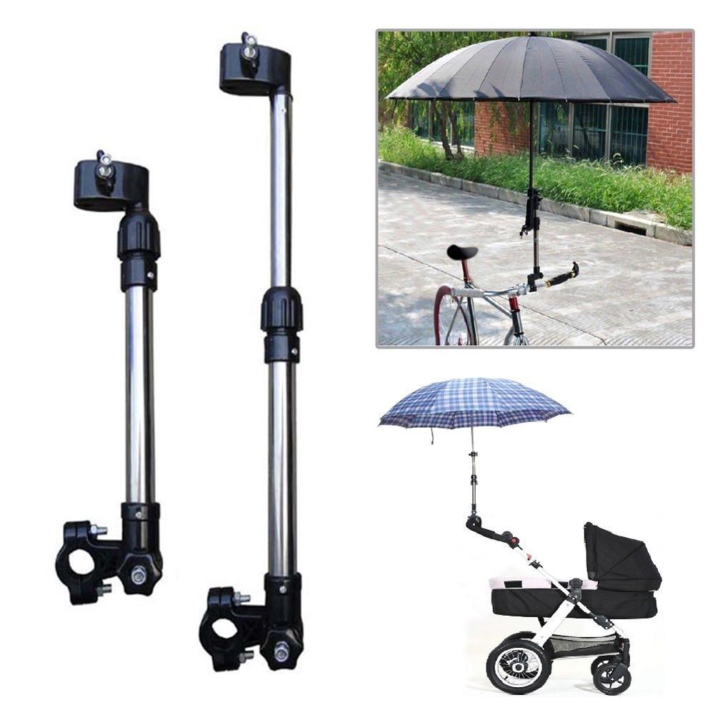 1 шт. Регулируемый детский зонт для новорожденных держатель велосипедная детская коляска инвалидная коляска Подставка Кронштейн барная коляска аксессуары для колясок