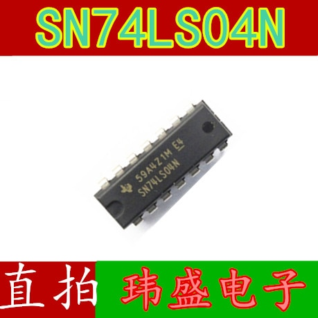 10pcs SN74LS04N HD74LS04P 74LS04 DIP14