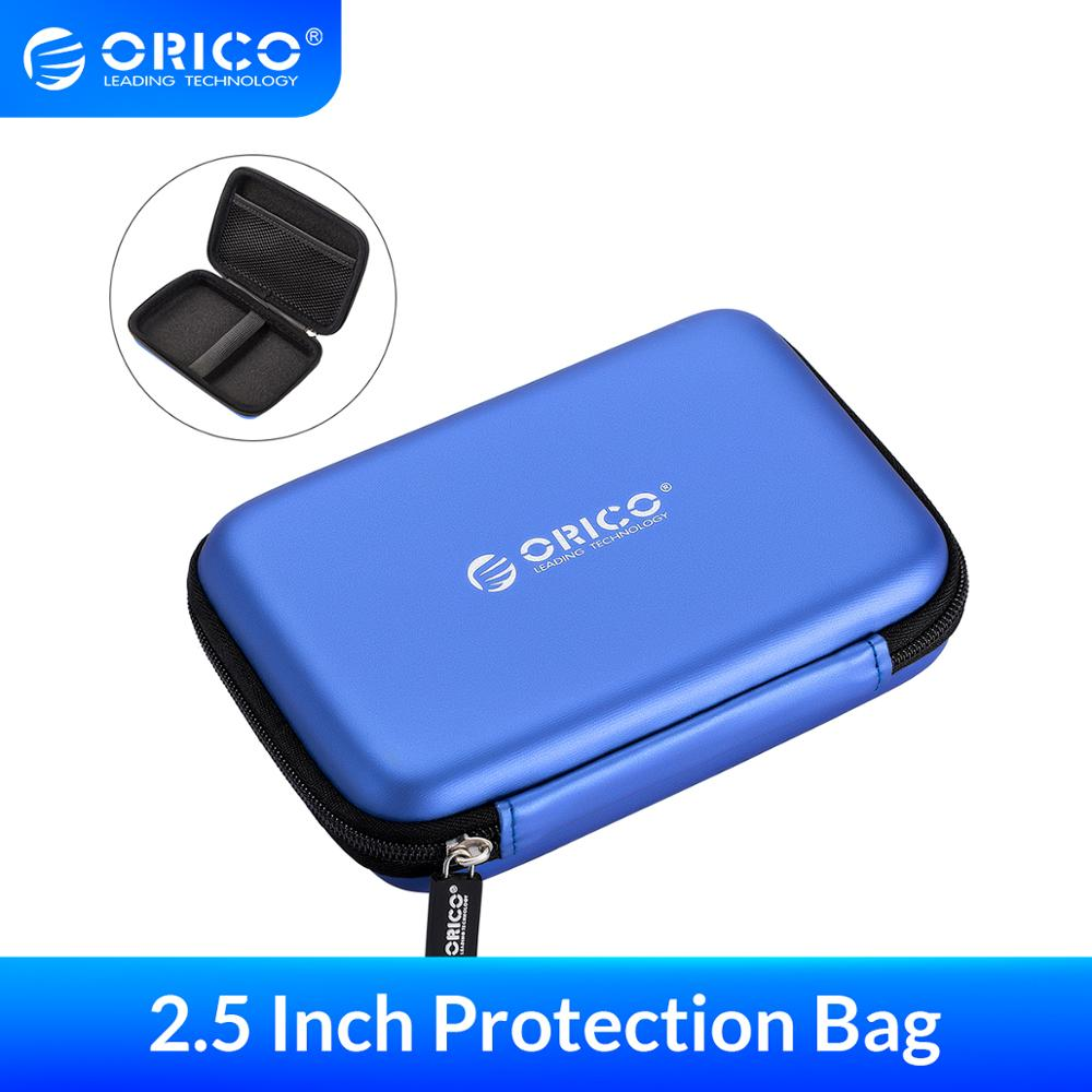 ORICO 2.5 Inch Protection Case Earphone Bag for External Portable HDD USB Charging Cables Power Bank