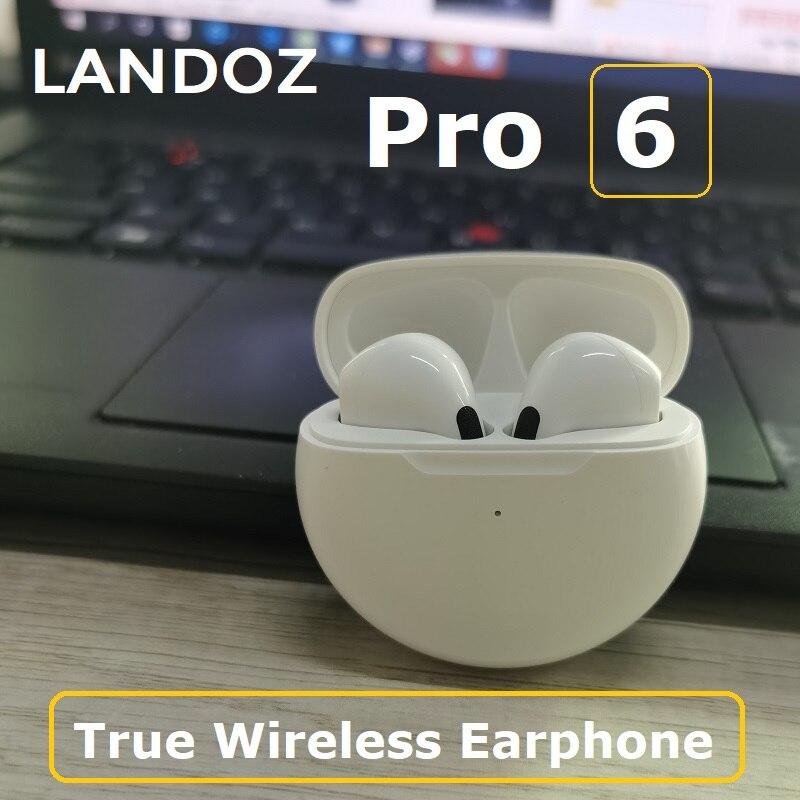 Pro4 tws fones de ouvido sem fio bluetooth airpro pro6 caso carregamento sportswater handsfree para xphones pk i900000