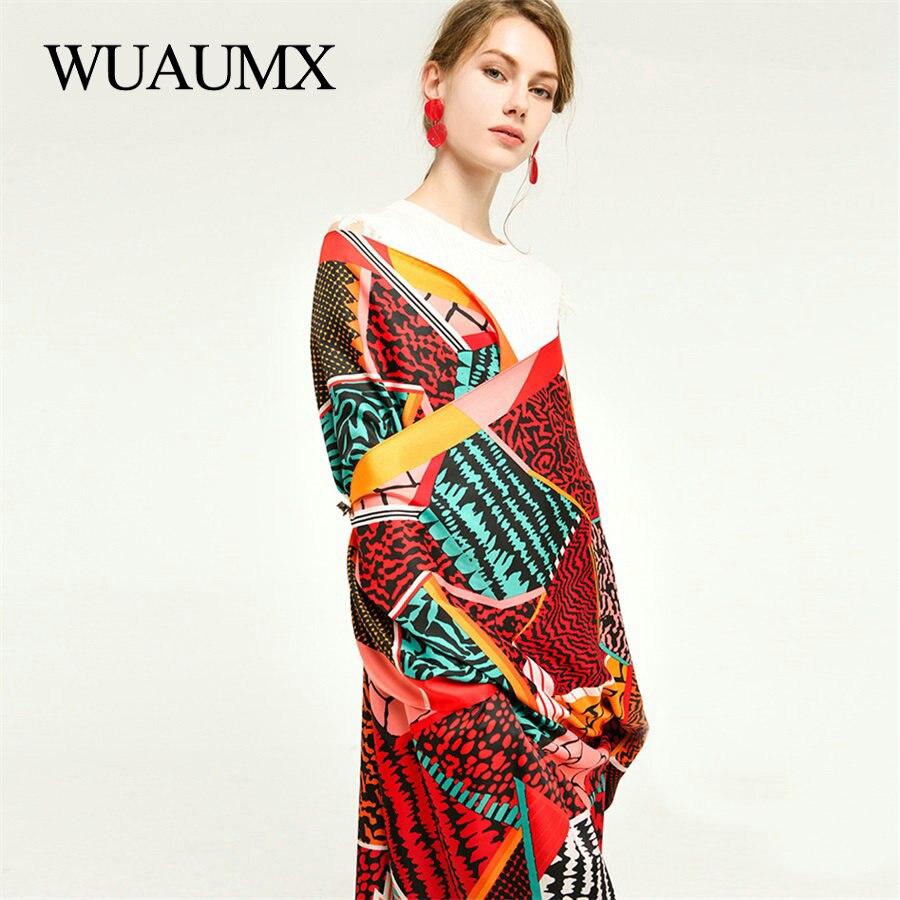 Bufanda para primavera y otoño Wuaumx de lujo, bufandas de retales a la moda para mujer, chal satinado sjaal, bufanda de cabeza de gran tamaño