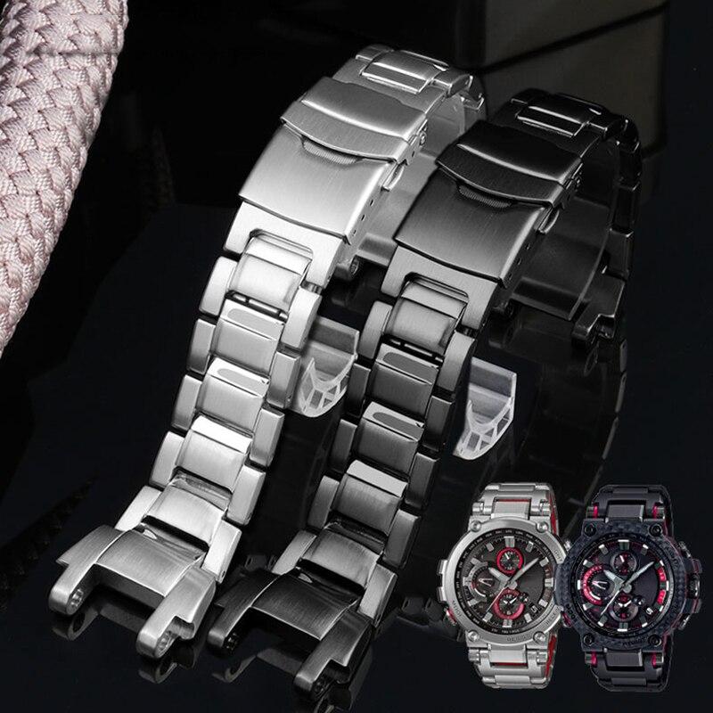 Correa de reloj de acero inoxidable 316L modificada para la serie GSHOCK MTG-B1000