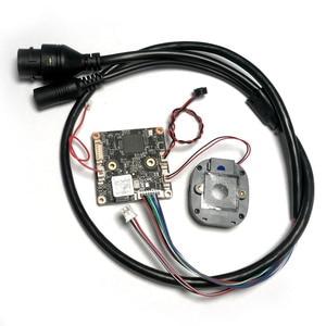 HD 3MP Double light illumination H.265/H.264 AI IP Camera Module 3.0mp CMOS Board Color with fisheye lens